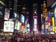 Times Square in NY  http://visitarnovayork.com/times-square/