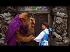 LOVE this! Belle & Beast Hunt for a New Castle in HGTV's 'House Hunters International' spoof!
