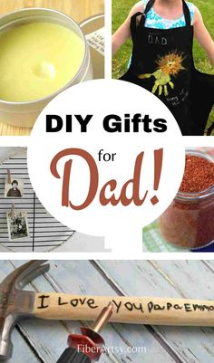 DIY Father's Day Gift Ideas. Creative and fun (last minute) gifts the kids can make for Dad! A variety of craft ideas for younger kids as well as teens. #diygiftideas #fathersdaygiftideas #handmadegifts Homemade Fathers Day Gifts, Diy Gifts For Dad, Fathers Day Crafts, Homemade Gifts, Diy Father's Day Crafts, Father's Day Diy, Upcycled Crafts, Crafts For Teens, Craft Tutorials