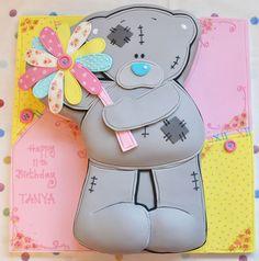 How to make Me to You Bear cake