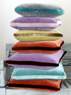 Nina Campbell jewel cushions