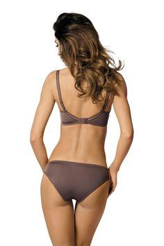 Culotte Pamela lingerie Gorteks. 7 tailles et 2 coloris mocca ou fuschia. Collection automne / hiver 2015. #vivelalingerie #gorteks #lingerie #culotte