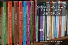 Create your own Little House Unit Study ~SimpleHomeschool