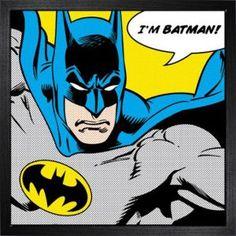 DC Comics De l'art encadré Batman (I'm Batman)