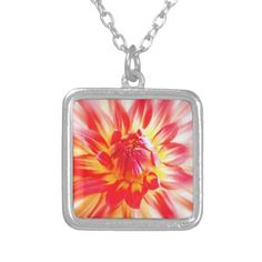 Flower Jewelry #Flower #Necklace #Pendant