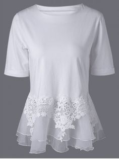 Great reputation fashion retailer with large selection of womens & mens fashion clothes, swimwear, shoes, jewelry, accessories selling at a cheap price. Pretty Outfits, Cool Outfits, Vetements Clothing, Do It Yourself Fashion, Peplum Blouse, Lace Peplum, Diy Fashion, Fashion Site, Fashion Clothes