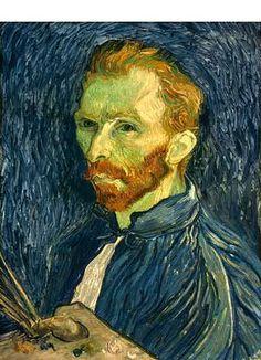 Color Lesson  Vincent van Gogh, Self-Portrait, 1889