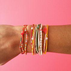✨NEW ! Mini Rainbow collection ✨ bracelets élastiques en perles Miyuki, perles nacre et mini mini pompoms, vendus en pack de 3 ✨ Bientôt disponibles sur le site ✌️#miyuki #perles #rainbow #foreveronvacation #hortensejessua #letetoutelannee #rainbawjewels