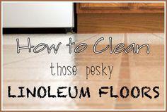Best Way to Clean Linoleum Floors - Ask Anna