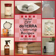 The Best DIY doTERRA Cleaning Recipes-imagine the peace of knowing you are cleaning your home with natural products instead of chemicals.
