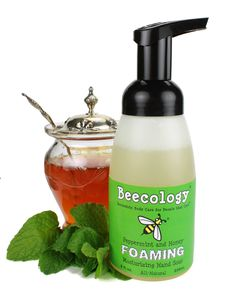 One of new foaming hand soaps