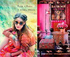 boho hippie decoration
