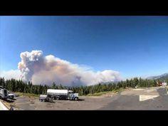 WATCH: Timelapse Captures Massive Rim Fire Destruction