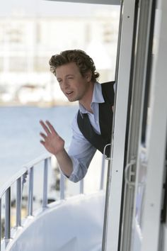 "From ""Miss Red"" Simon Baker aka Patrick Jane from The Mentalist"