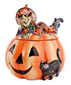 Take a look at this Witch Hazel Cookie Jar by Fitz and Floyd on #zulily today!