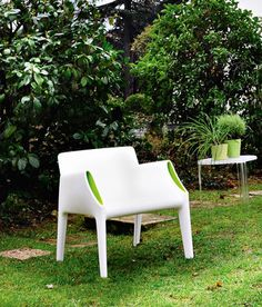 Kartell Magic Hole outdoor armchair by Philippe Starck