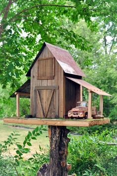 Beautiful Bird House Designs You Will Fall in Love with (8)