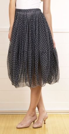 COMME DES GARCONS SKIRT-  Super fun party skirt
