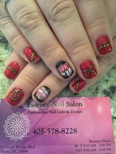 National Finals Rodeo nails! Vegas here is come!