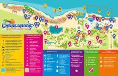 Cozumel Possible Shore Excursion - Chankanaab National Park Map