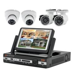 """Thunderbolt Electronics' Blog: """"Watch-Tower II"""" - 4 Channel DVR Security Camera K..."""