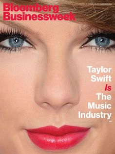 Taylor Swift is everywhere. The country star-turned pop royalty has blown up the music industry with the release of her indie and electro-infused album 1989 and this week, Swift covered both Time Magazine and Bloomberg Businessweek , which not only… Business Advice, Business News, Bloomberg Businessweek, Business Magazine, Taylor Swift Pictures, Financial Markets, Music Industry, Covergirl, Cover Photos