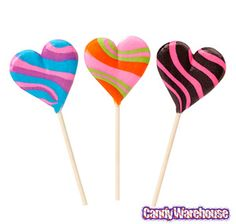 Just found Assorted Crazy Hearts Lollipops: 12-Piece Box @CandyWarehouse, Thanks for the #CandyAssist!