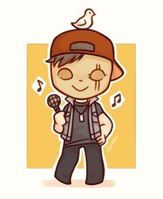 Hollywood Undead ❤️ Danny -- chibi