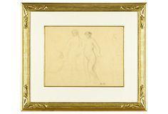 Renoir, Charcoal Etude