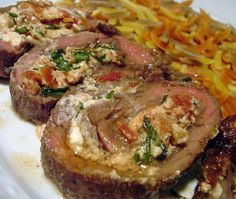 Steak pinwheels recipes on Pinterest | Stuffed Flank Steak, Flank ...