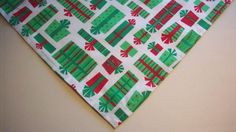 Dog Bandana/Scarf,Cotton,Tie On,Christmas,Presents,Custom made by Linda,XS,S,M,L #CustomMadebyLinda