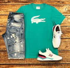 Come shop the hottest combos here at your one-stop shop! Swag Outfits Men, Outfits Hombre, Tomboy Outfits, Casual Outfits, Fashion Outfits, Polo Outfit, Outfit Grid, Hype Clothing, Mens Clothing Styles