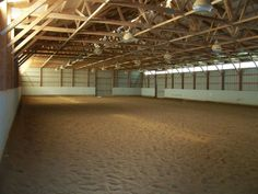 Indoor riding arena for those cold winters