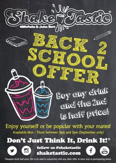 Back 2 School Offer!