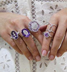 Amethyst  with diamonds... #diamondjewellery #jewellers #diamondrings #amethyst #collinsst #cbdjewellers #diamonddressrings #bestdiamonds #bestjeweller #jewellers #weddingrings #gentsring #solitaire #cityjeweller #kalfinjewellery #melbourne www.kalfin.com.au