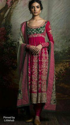 Pinterest: @Littlehub || Sabyasachi~❤。An Exquisite Clothing World || sabyasachi anarkali