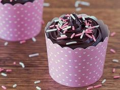 Microwave Chocolate Cupcakes for Two recipe