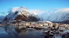 Город Рейне в Норвегии