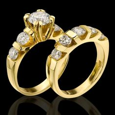 Engagement Ring And Band Set 43