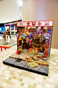 Miniature Model from Hong Kong