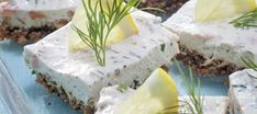 Lohi-tuorejuustopalat | Alkuruoat | Reseptit – K-Ruoka Salty Snacks, Food Inspiration, Feta, Camembert Cheese, Smoothie, Dairy, Appetizers, Appetizer, Smoothies