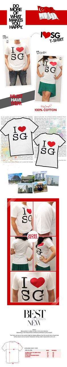 i Love SG My Design, Playing Cards, My Love, Cotton, How To Make, T Shirt, Supreme T Shirt, Tee Shirt, Playing Card Games