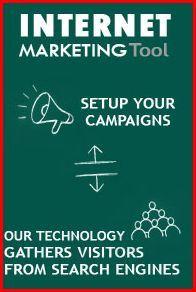 Internet Marketing Tool - Setup your campaigns. Our technology gather visitors from search engines.   Dicas de Como Ganhar Dinheiro Online - http://comoganharmais.com/