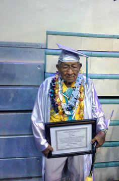 Navajo Code Talker Graduates!! Nizhoni~Dan Akee~ Respect..