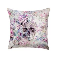 This week (29.8 - 4.9.16) ITEMS ON SALE! 'Villandry' is a signature design from ChaCha by Iris, Paris. A skull surrounded by beautifully intertwined purple and pink florals creating a decorative lace effect.