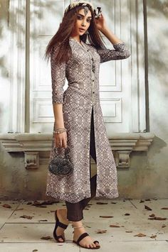 Designer Embroidered Party Wear Straight Georgette Salwar Kameez