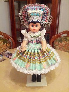 Tekov World Thinking Day, Traditional Outfits, Harajuku, Costumes, Dolls, Clothing, Dresses, Style, Fashion