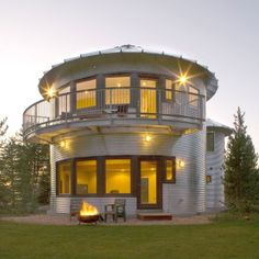 New Life for a Grain Silo House