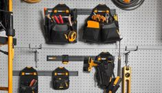 Tool Organization, Tool Storage, Storage Ideas, Woodworking Shop Layout, Must Have Tools, Tool Belt, Diy And Crafts, Workshop, Vest