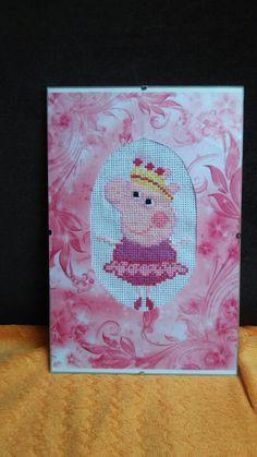 Peppa pig cross stitch